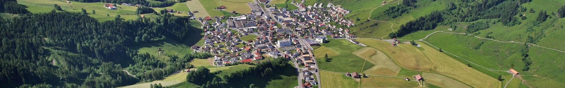 Luftbild Rothenthurm im Sommer